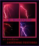 45 Lightning Texture Bases