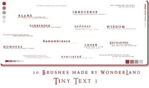 Tiny Text 3 by Foxxie-Chan