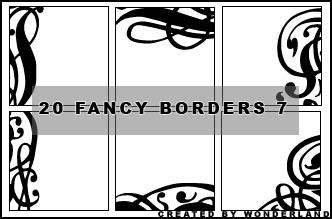 Fancy Icon Borders 7 by Foxxie-Chan