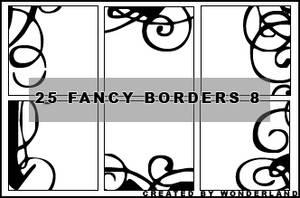 Fancy Icon Borders 8 by Foxxie-Chan