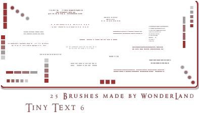 Brush pour typo