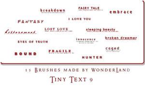 Tiny Text 9