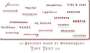 Tiny Text 10