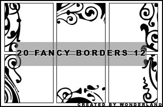 Fancy Icon Borders 12 by Foxxie-Chan