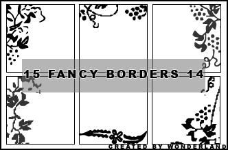 Fancy Icon Borders 14 by Foxxie-Chan