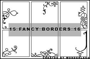 Fancy Icon Borders 16