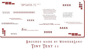 Tiny Text 11
