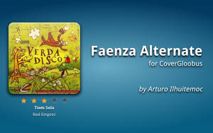 Faenza Alternate CoverGloobus by ArturoIlhuitemoc