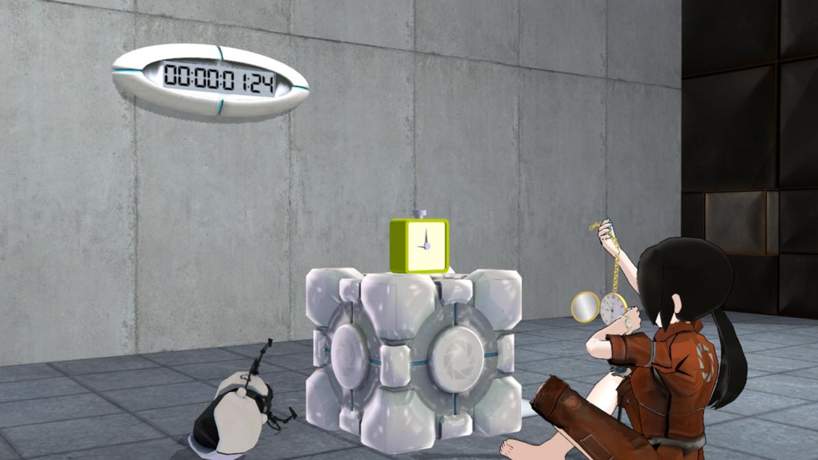 Portal Clock for MMD, DL by KillerBeer01