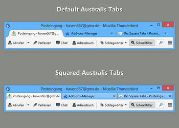 Squared Australis Tabs (Tb) 1.1 by Haven667
