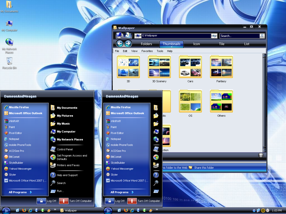 Windows Media Player 11 1.1 by DameonRW