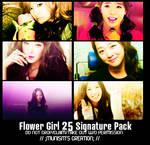 007.Flower Girls Signature Pac