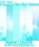 016.6 Exclusive Blue Texture