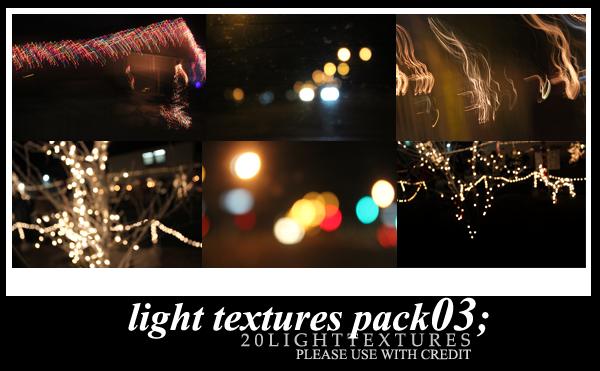 039.Light Bokeh Texture Batch 03