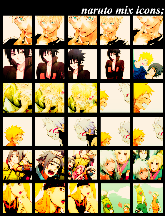 041.Naruto Icon Batch