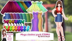 Mega Clothes Pack - By Ginna Deyal by GinnaDeyal