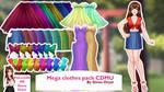 Mega Clothes Pack - By Ginna Deyal
