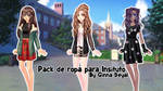 Ep 4 clothes for highschool - CDM pack By Ginna