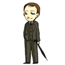 Mycroft Holmes Shimeji for Mac by bifftheninja
