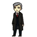 Lestrade Shimeji for Mac by bifftheninja