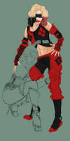 poison ivy and harley quinn concept