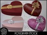 Candy Heart Box 001 by poserfan-stock