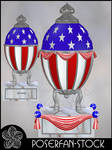Memorial Day Jewel Egg by poserfan-stock