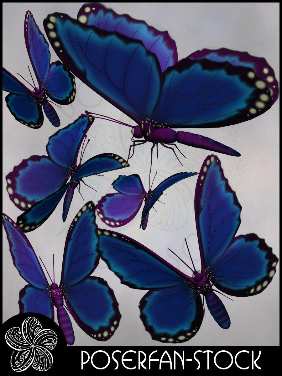 Butterfly 001 by poserfan-stock