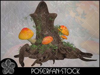 Shroom Throne 002 by poserfan-stock