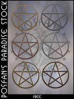 Pentagram 001 by poserfan-stock
