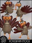Toonimal Thom Turkey by poserfan-stock