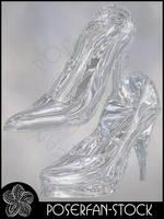 Cinderella's Shoe by poserfan-stock