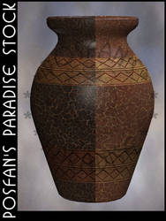 Stone Vase 002 by poserfan-stock