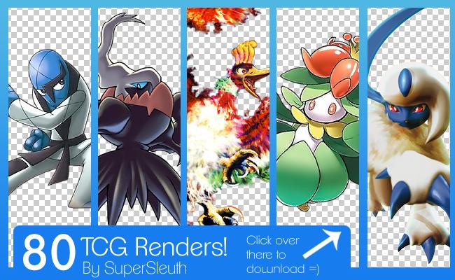 Pokemon TCG Renders Pack