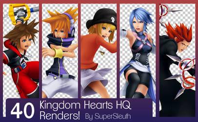 Kingdom Hearts HQ Render Pack
