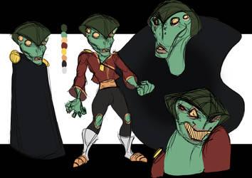 Mass Effect Animation: Kid Javik by Caleb-Riley