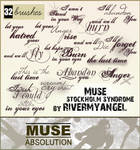 Muse Text Brushes - set 2