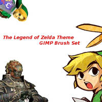 Legend of Zelda Gimp Brushes by metropolis92