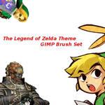 Legend of Zelda Gimp Brushes