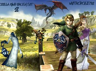 Legend of Zelda GIMP Set 2 by metropolis92