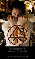 Constantine Arm Tattoo Brushes