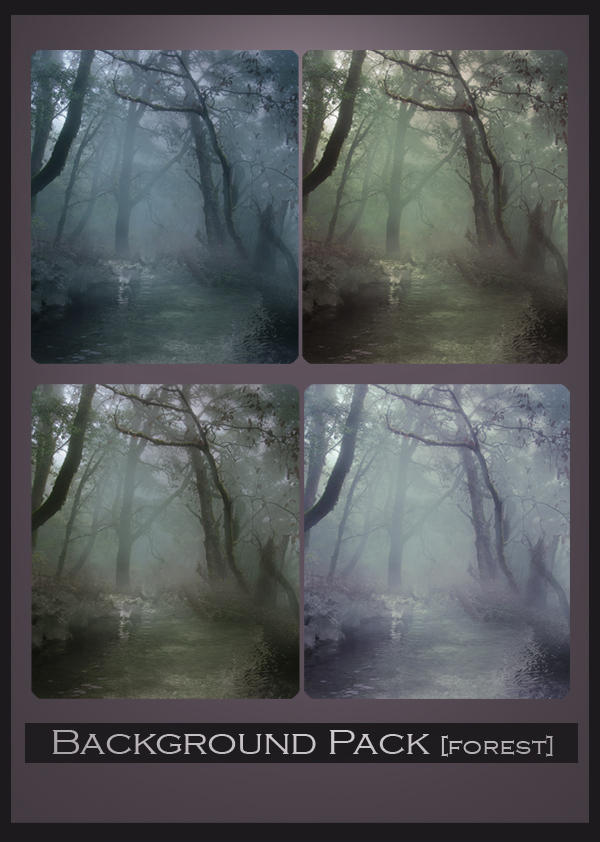 Background Pack-Forest by ALiceFaux