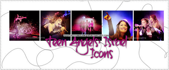 Lali and Teen Angels icons 1 by uniquebrunette