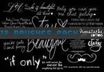 Text Brushes pack