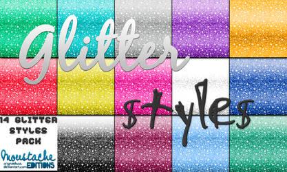 14 Glitter Styles by originaldixia