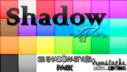 23 Shadow Styles by originaldixia