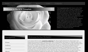 Black and White Layout
