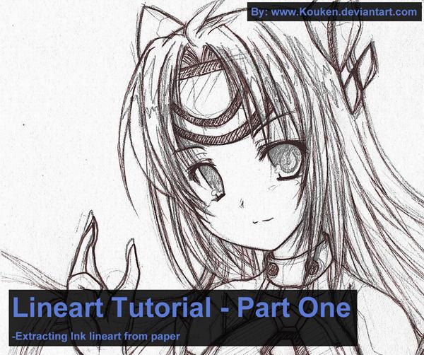 Line Art Tutorial Photo : Lineart tutorial ink by kouken on deviantart