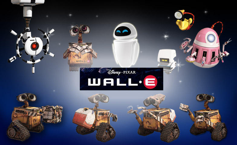 Wall-E Icons by Comtessedelalune