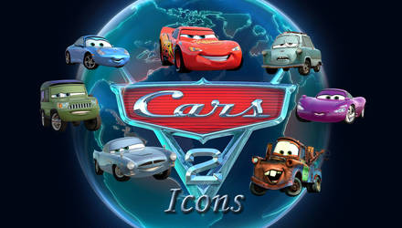 Cars 2 Icons by Comtessedelalune